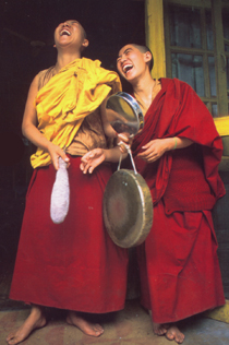 Gong Laughing